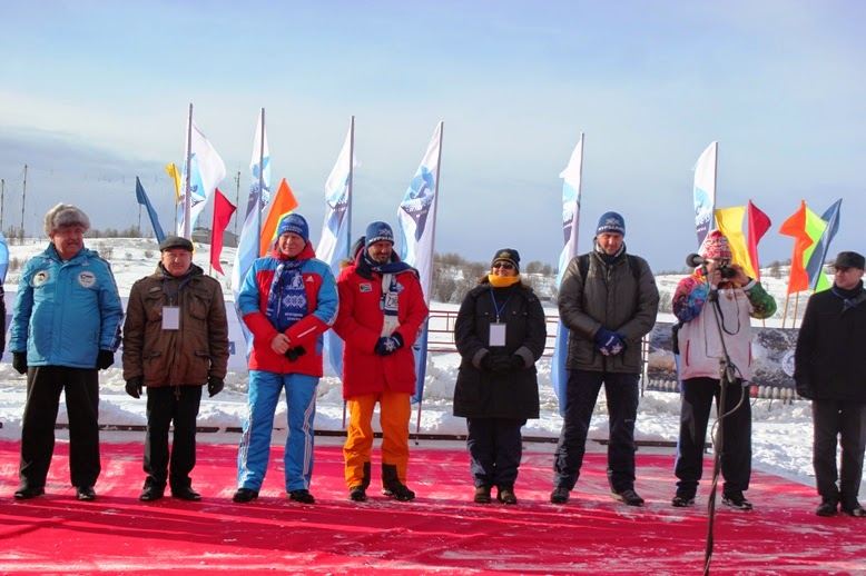 IISA World Championships 1000m at 0 degree inside the Arctic Circle